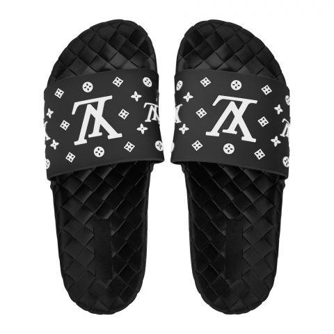 Women's Slippers, R-17, Black