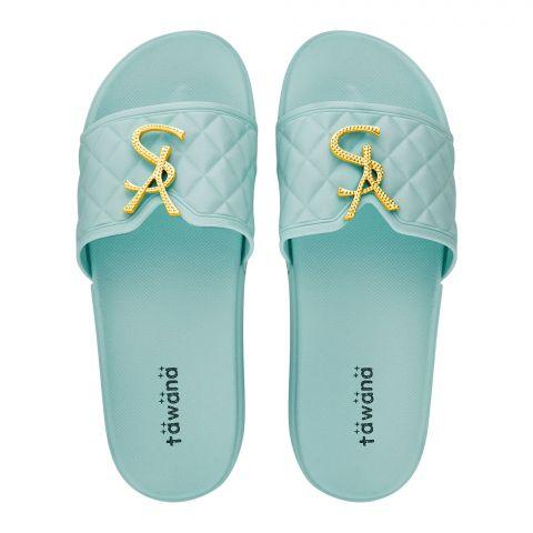 Women's Slippers, R-18, Green
