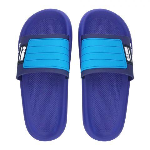 Men's Slippers, R-20, Blue