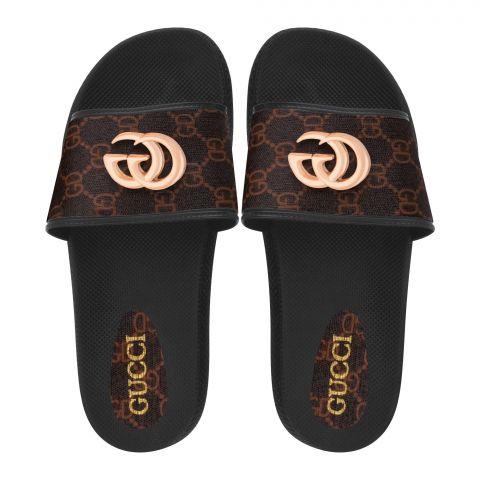 Women's Slippers, R-28, Brown