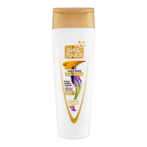 Golden Pearl Set & Touch Long & Strong Shampoo + Conditioner, 190ml