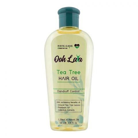 Ooh Lala Tea Tree Hair Oil, Dndruff Control, 120ml