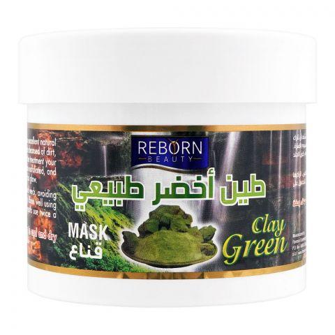 Reborn Beauty Green Clay Mask, 500ml