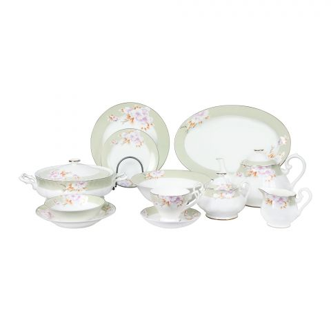 PMP Royal China Dinner Set, 85 Pieces, YS03
