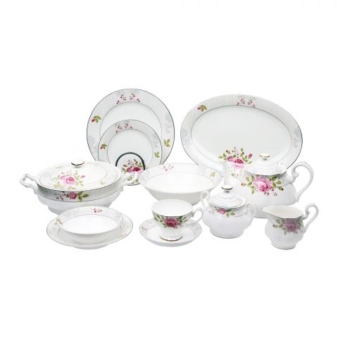 PMP Royal China Dinner Set, 85 Pieces, YS04