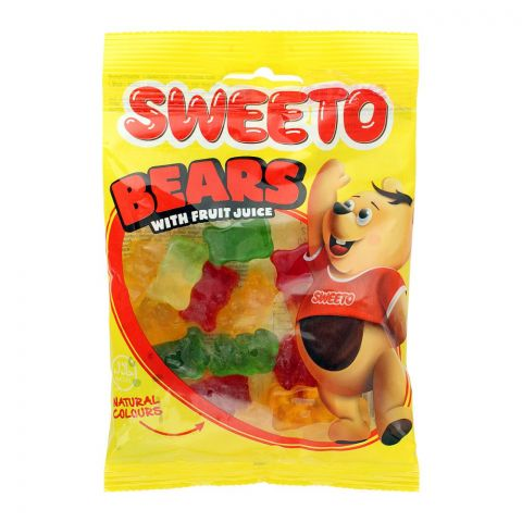Sweeto Bears Gummy Jelly Pouch, 80g
