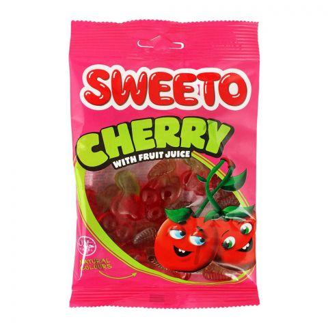 Sweeto Cherry Gummy Jelly Pouch, 80g