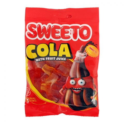 Sweeto Cola Gummy Jelly Pouch, 80g