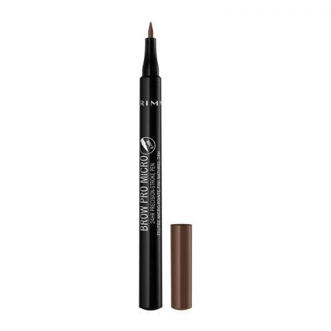 Rimmel Brow Pro Micro 24Hr Precision Stroke Pen, 002 Soft Brown
