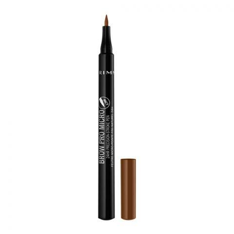 Rimmel Brow Pro Micro 24Hr Precision Stroke Pen, 002 Honey Brown