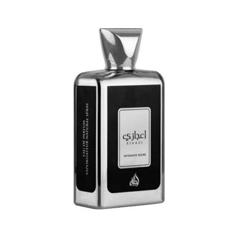 Lattafa Ejaazi Intensive Silver Eau De Parfum, Fragrance For Men and Women, 100ml