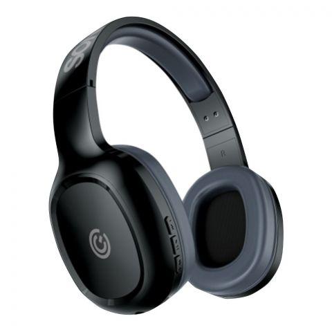 SonicEar Airphone 3 On Ear Bluetooth Headphones, Dark Grey