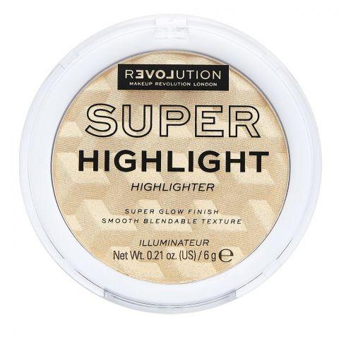 Makeup Revolution Relove Super Highlight Highlighter, Champagne