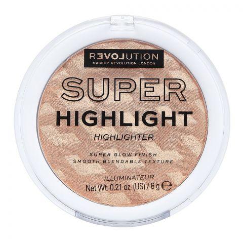 Makeup Revolution Relove Super Highlight Highlighter, Rose