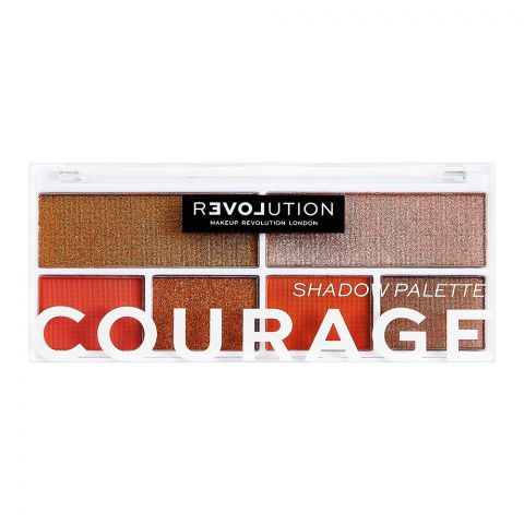 Makeup Revolution Relove Eyeshadow Palette, Courage