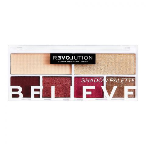 Makeup Revolution Relove Eyeshadow Palette, Believe