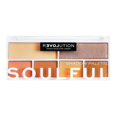 Makeup Revolution Relove Eyeshadow Palette, Soulful
