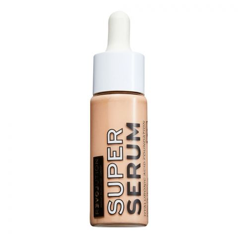 Makeup Revolution Relove Super Serum Hyaluronic Acid Foundation, F3