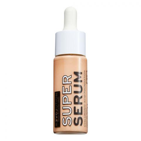 Makeup Revolution Relove Super Serum Hyaluronic Acid Foundation, F6