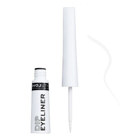 Makeup Revolution Relove Dip Eyeliner, White