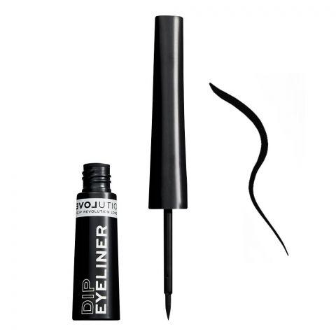 Makeup Revolution Relove Dip Eyeliner, Black