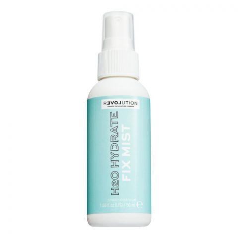 Makeup Revolution Relove H2O Hydrate Fix Mist Spray, 50ml