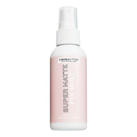 Makeup Revolution Relove Super Matte Fix Mist Spray, 50ml