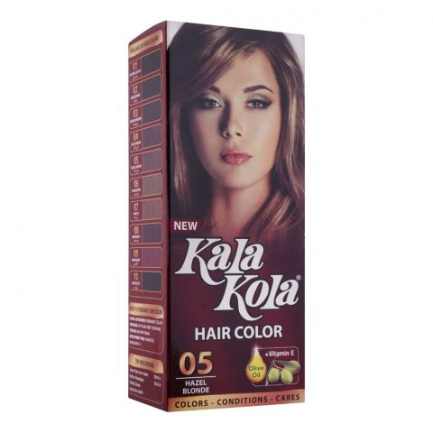 Kala Kola Hair Colour, 05 Hazel Blonde