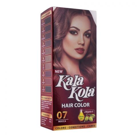 Kala Kola Hair Colour, 07 Mocca