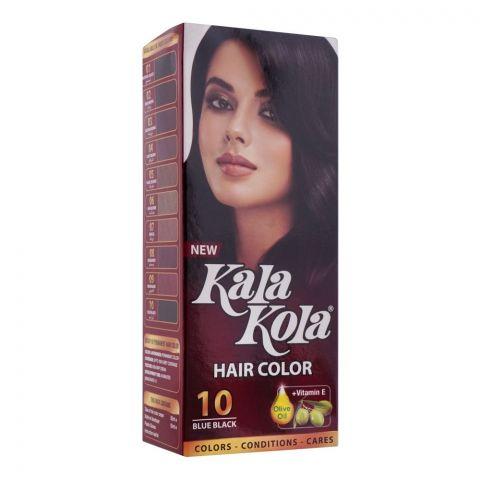 Kala Kola Hair Colour, 10 Blue Black