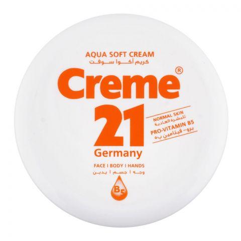 Creme 21 Aqua Soft Cream, Normal Skin, 150ml