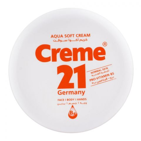 Creme 21 Aqua Soft Cream, Normal Skin, 250ml