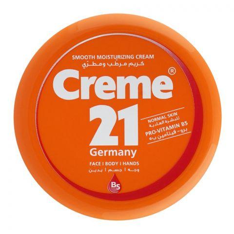 Creme 21 Smooth Moisturizing Cream, Normal Skin, 250ml