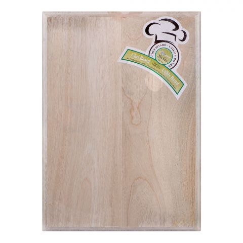 Amwares Mango Wood Chef's Board, Large, 14x10 Inches, 005008