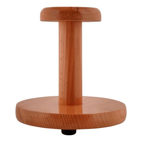 Amwares Beech Wood Tissue Roll Stand Small, 009023