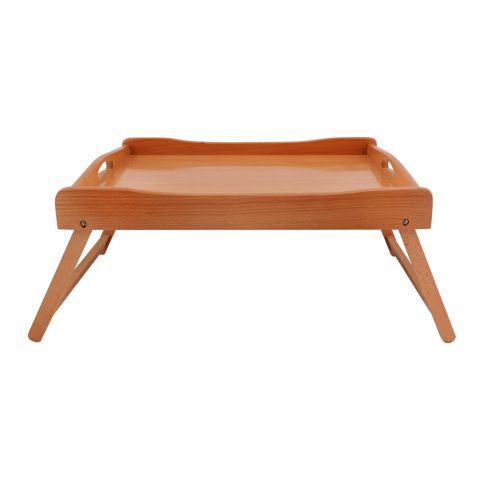 Amwares Beech Wood Wooden Bed Tray, 18x13 Inches, 019033