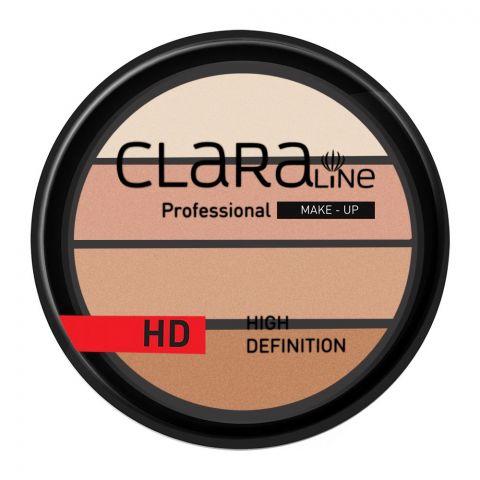 Claraline Professional High Definition Quadro Eyeshadow, 253