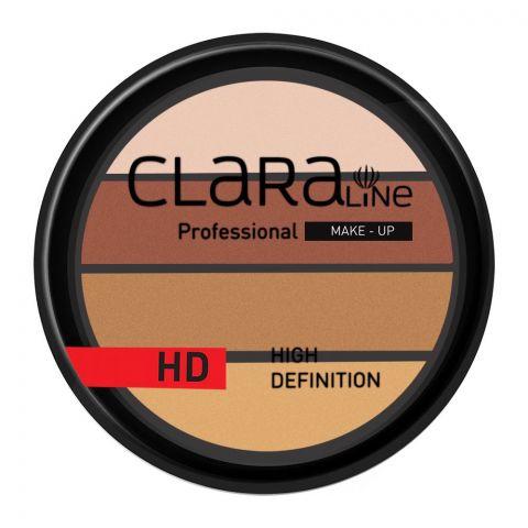 Claraline Professional High Definition Quadro Eyeshadow, 255