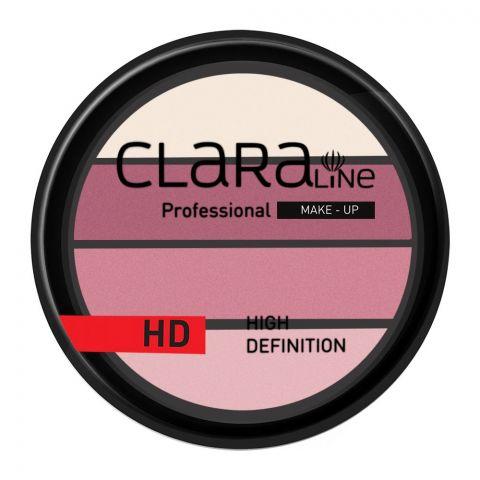 Claraline Professional High Definition Quadro Eyeshadow, 256