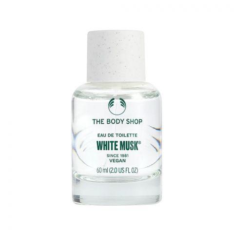 The Body Shop White Musk Vegan Eau De Toilette, Fragrance For Women, 60ml