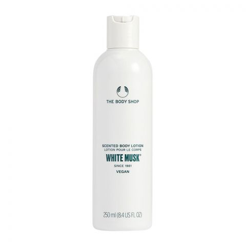 The Body Shop White Musk Vegan Scented Body Lotion, 250ml