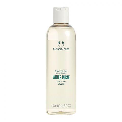The Body Shop White Musk Vegan Shower Gel, 250ml