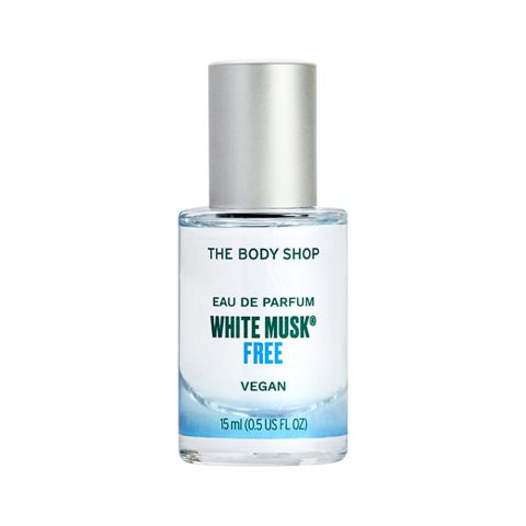 The Body Shop White Musk Vegan Free Eau De Parfum, Fragrance For Women, 15ml
