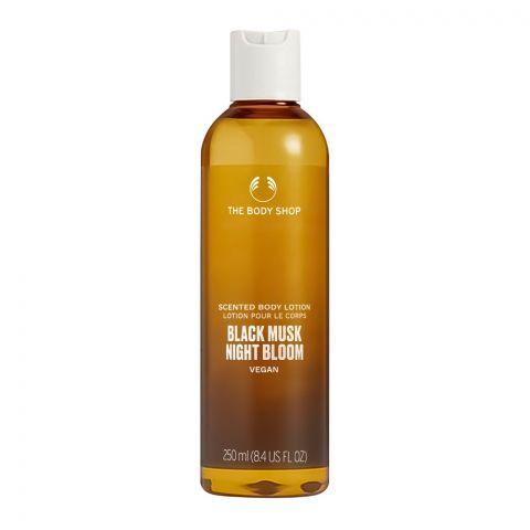 The Body Shop Black Musk Vegan Night Bloom Scented Body Lotion, 250ml