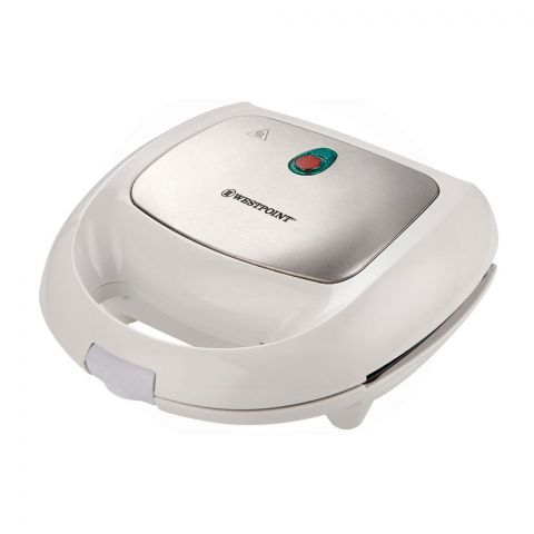 West Point Deluxe Sandwich Toaster, White WF-640