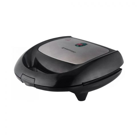 West Point Deluxe Sandwich Toaster, Black, WF-692