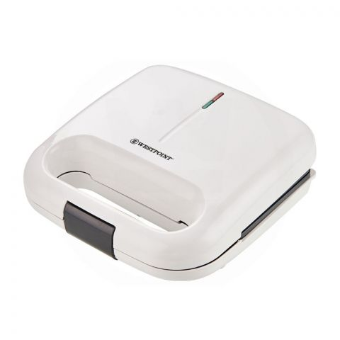 West Point Deluxe Sandwich Toaster, White, WF-671