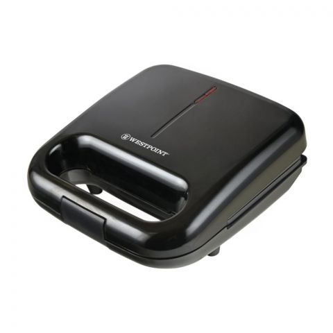 West Point Deluxe Sandwich Toaster, Black, WF-694