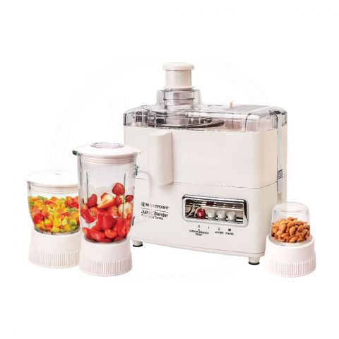 West Point Deluxe 4-In-1 Juicer/Blender & Dry Mill, WF-1874