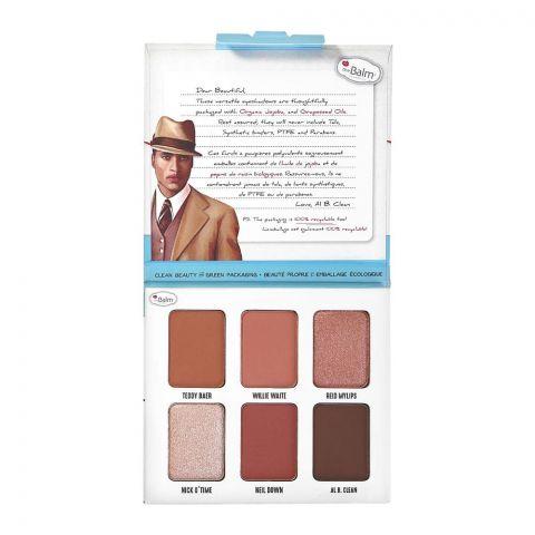 theBalm Male Order Domestic Male Eyeshadow Palette, 6 Shades